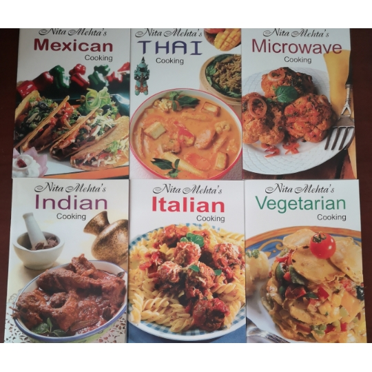 Assorted Nita Mehta's Cookbook