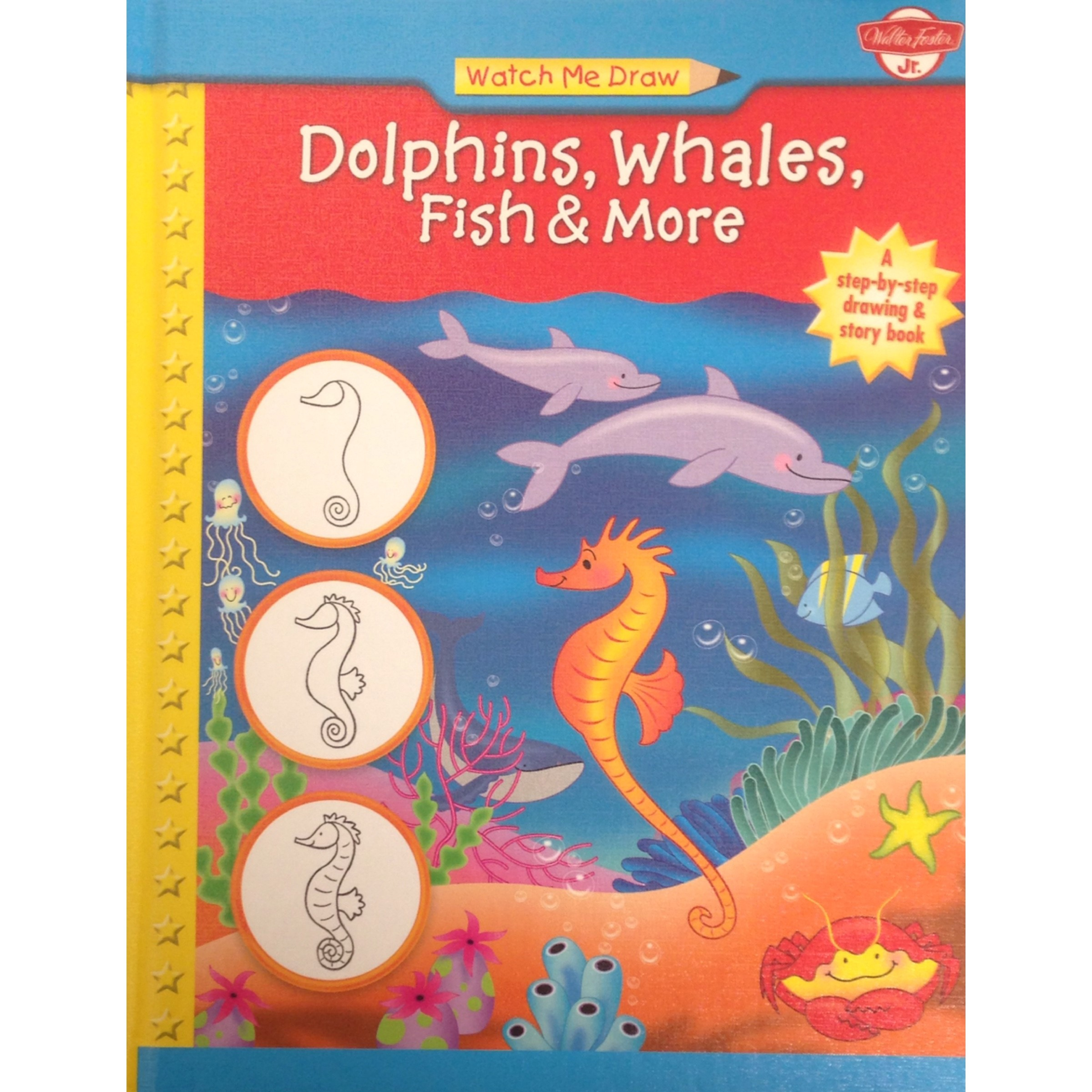Watch Me Draw Dolphins, Whales, Fish & More